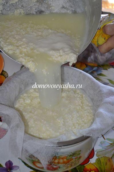 Сыр из кефира домашний 69
