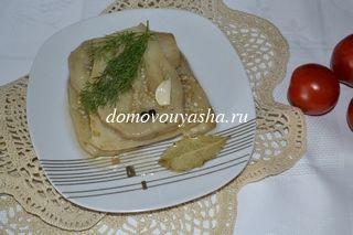 вкусные маринованные баклажаны рецепт с фото
