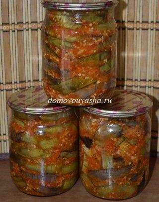 жареные баклажаны по грузински рецепт