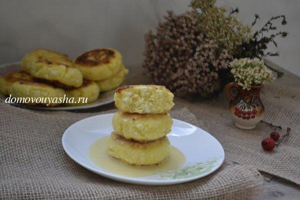 Сырники без муки и сахара - рецепт пошаговый с фото