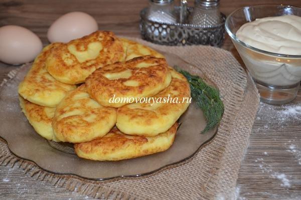 Зразы с картофельной начинкой, пошаговый рецепт с фото
