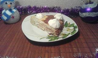 Торт из блинчиков фото рецепт