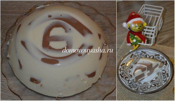 Торт со сметаной и желатином рецепт