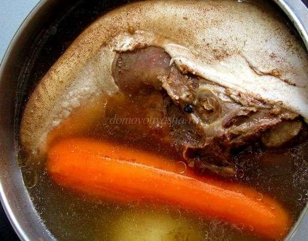 Как приготовить заливное из языка говяжьего рецепт