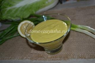 Майонез из оливкового масла в домашних условиях