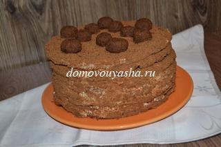 торт спартак пошаговый рецепт с фото