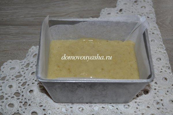 Банановый кекс рецепт с фото