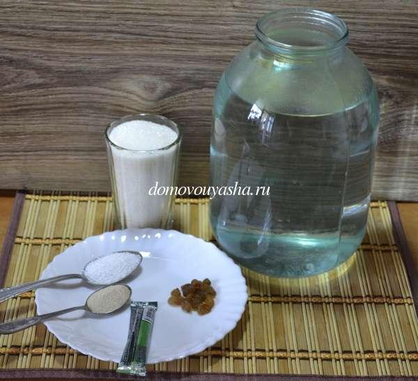 Квас из растворимого кофе рецепт
