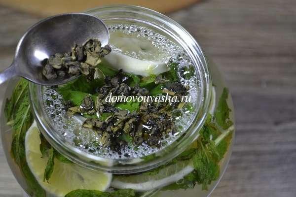 Домашний лимонад рецепт из лимонов и мяты