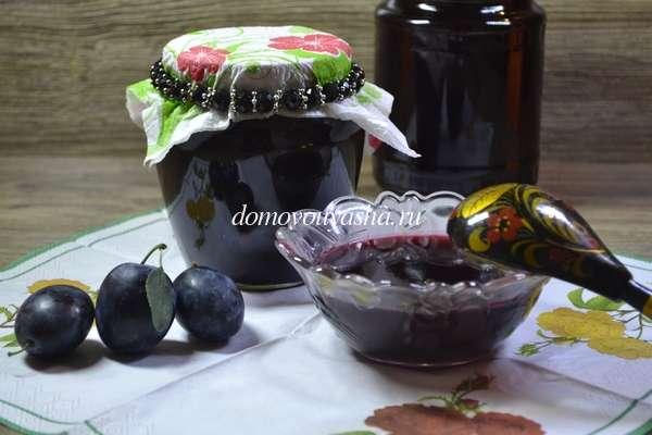 Сливовый джем рецепт с фото