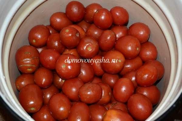 Рецепт квашеных помидоров с горчицей на зиму