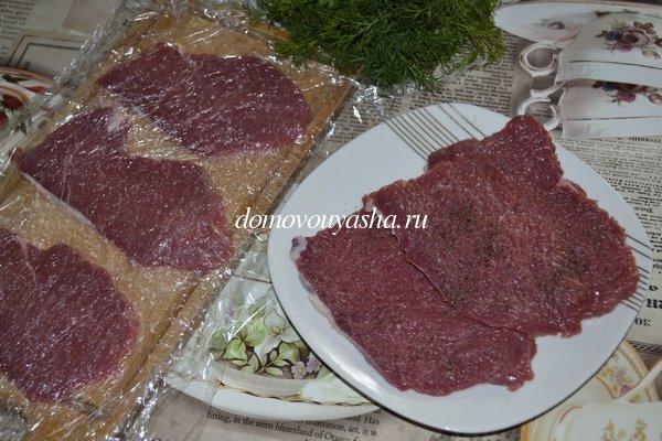 Как приготовить отбивные из говядины на сковороде