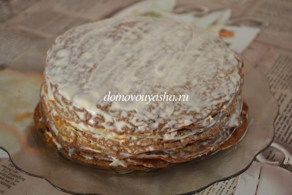 Торт из куриной печени рецепт с фото пошаговый