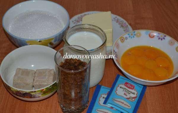 Кулич на желтках и молоке