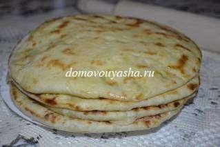 Как сделать хачапури с сыром на сковороде
