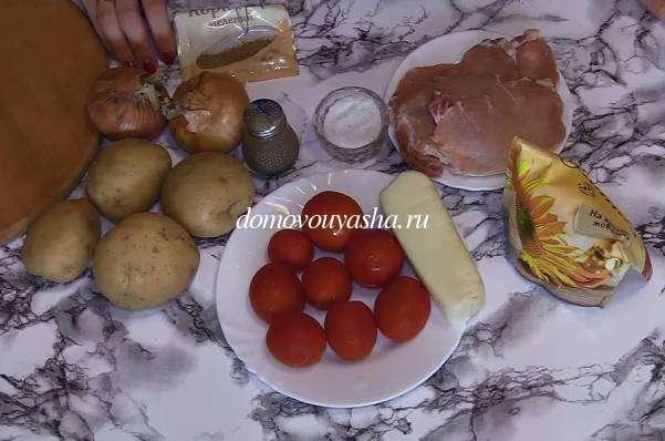 Нежнейшее мясо по-французски из свинины с картошкой в духовке