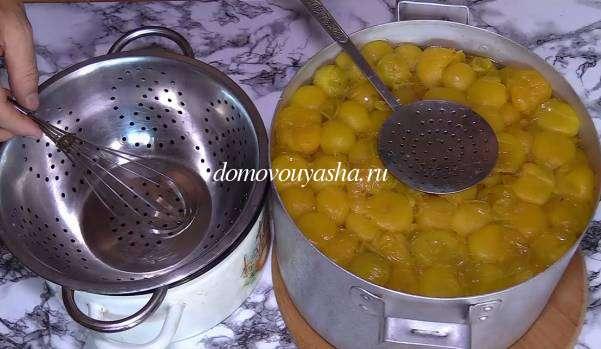 Как приготовить соус ткемали из желтой алычи