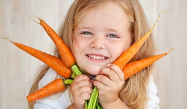 Полезные свойства моркови для детей