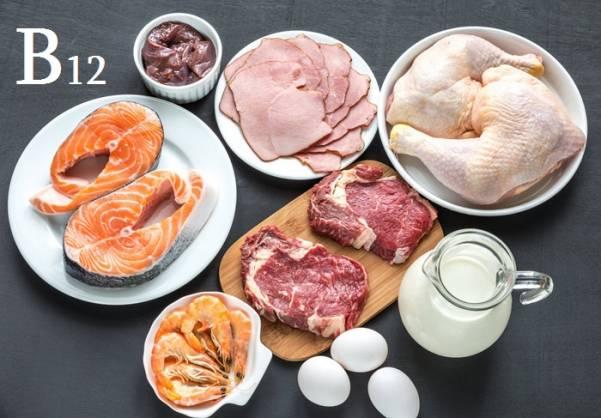 Источник витамина В12 в продуктах