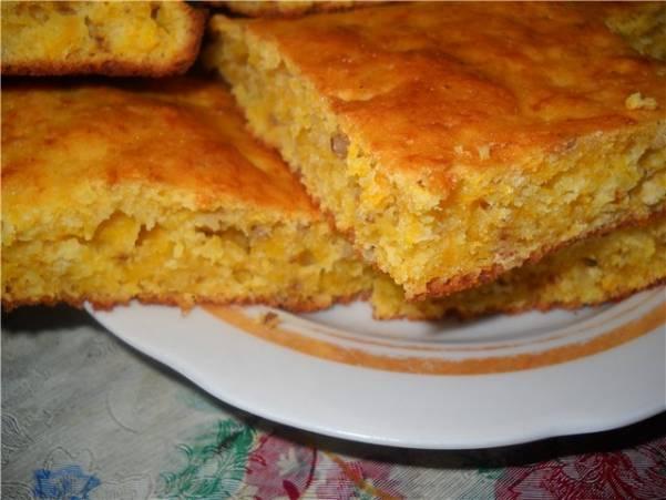 Тыквенный пирог с рисом