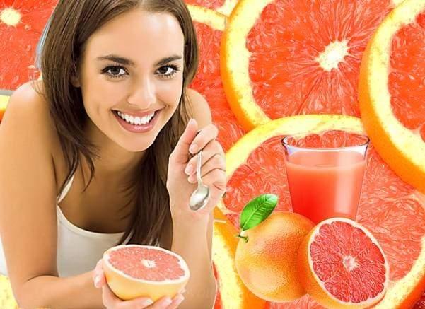 Польза грейпфрута для женщин