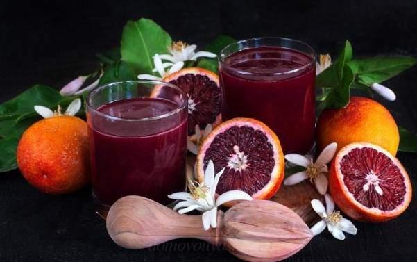 Сок грейпфрута состав
