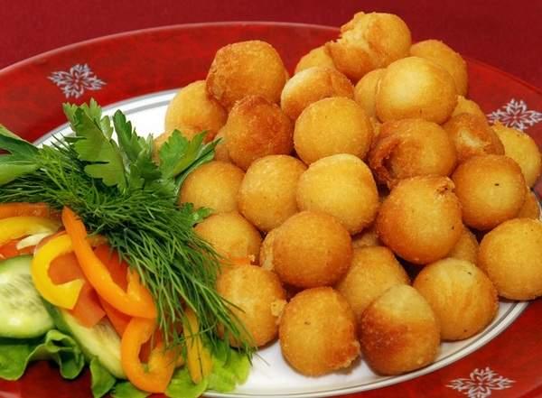 Как готовить картофельные шарики