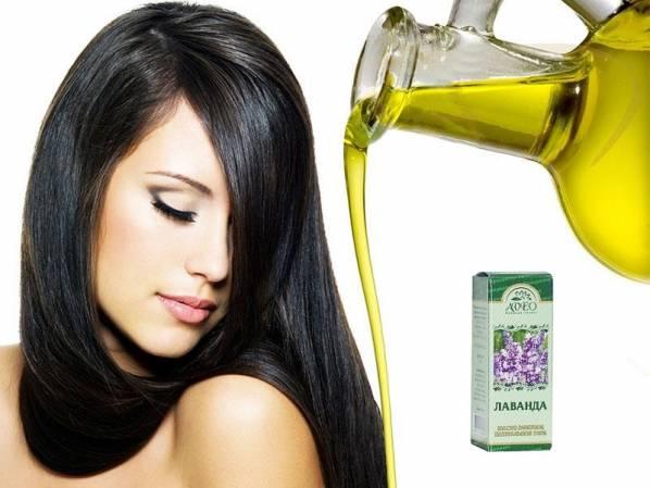 Лавандовое эфирное масло для волос