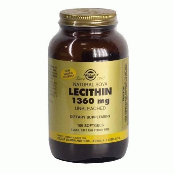 Лецитин польза и вред