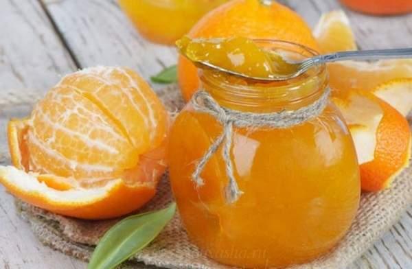 Конфитюр из мандаринов рецепт