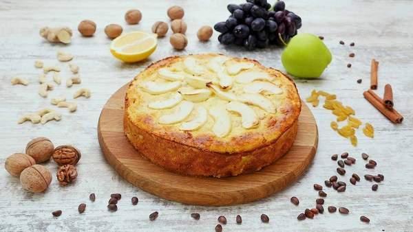 Как приготовить яблочно-творожную запеканку
