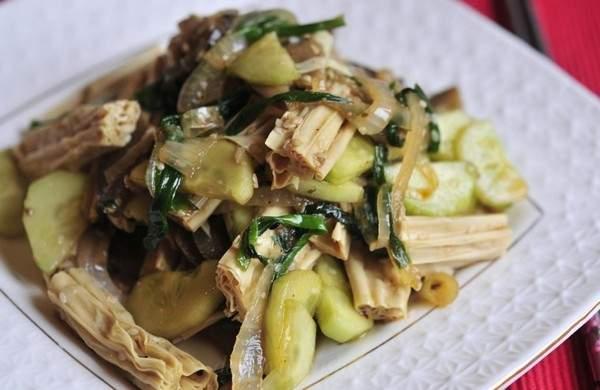 Салат из фучжу