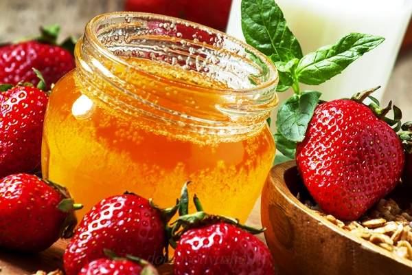 Клубничное варенье с липовым медом