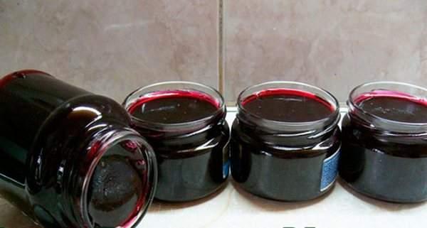 Варенье желе из черной смородины