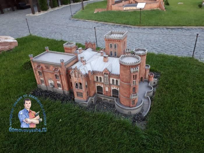 Усадьба Даховских илиЛесковский замок