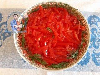 Салат помидоры сыр яйца