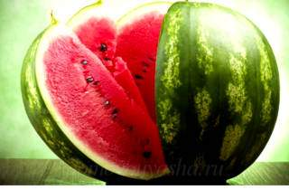 Состав арбуза и полезные свойства