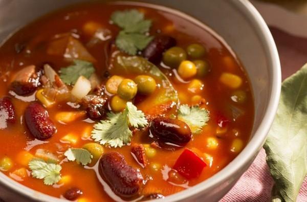 Суп из свежей кукурузы