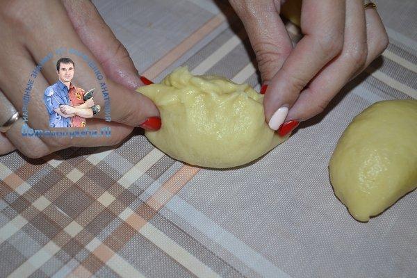 Пирожки с капустой в духовке рецепт