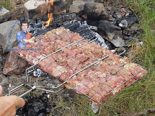 Простой рецепт шашлыка из свинины с луком