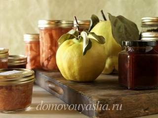 Варенье из айвы рецепт приготовления в домашних условиях