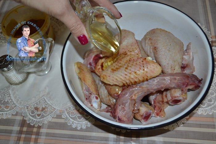 Курица в соевом соусе в духовке