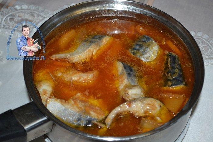 Нежнейшая скумбрия в томатном соусе