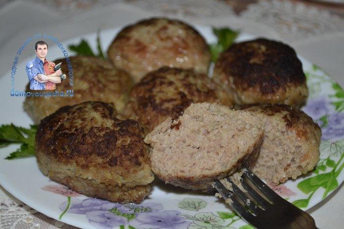 Рецепт вкусных котлет из фарша говядины и свинины