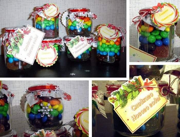 Банка с конфетами