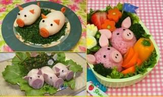 Новогодние рецепты 2019 года свинка(поросенок) салат
