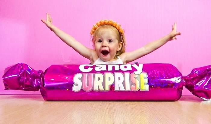 Огромная конфета на Новый год