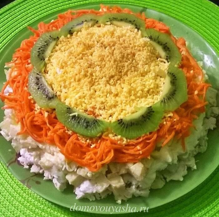 Салат Африка с корейской морковью