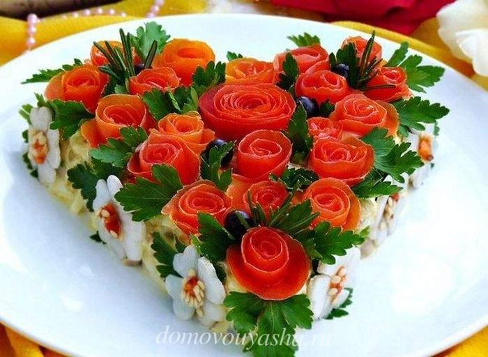 Салат Африканская роза