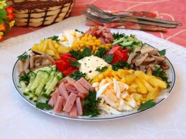 Салат Радуга рецепты с фото простые